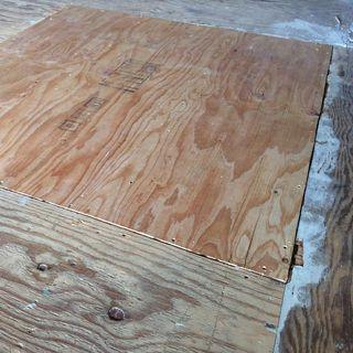 Sub floor repair