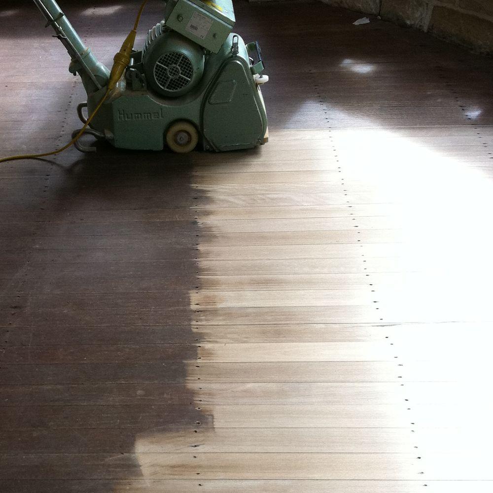Wood deck resurfacing