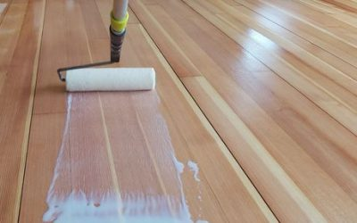 Refinishing a wood floor