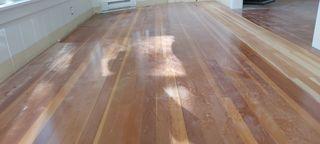 Fir flooringbefore