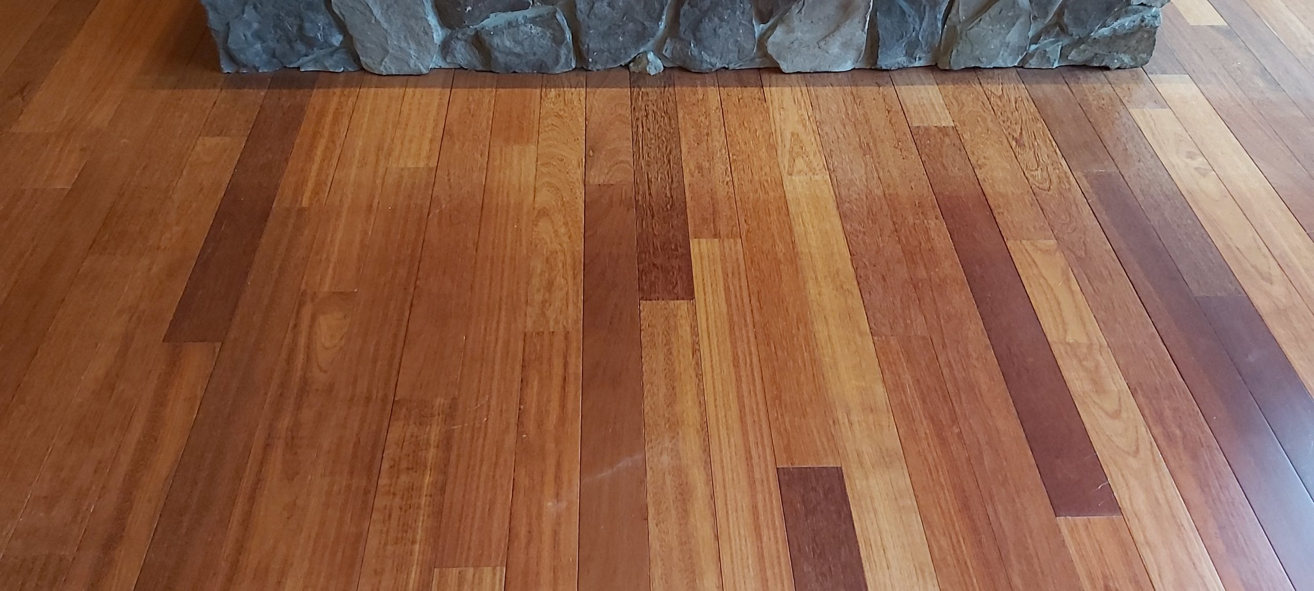 Kempas wood flooringbefore scaled