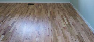 Red oak flooringafter